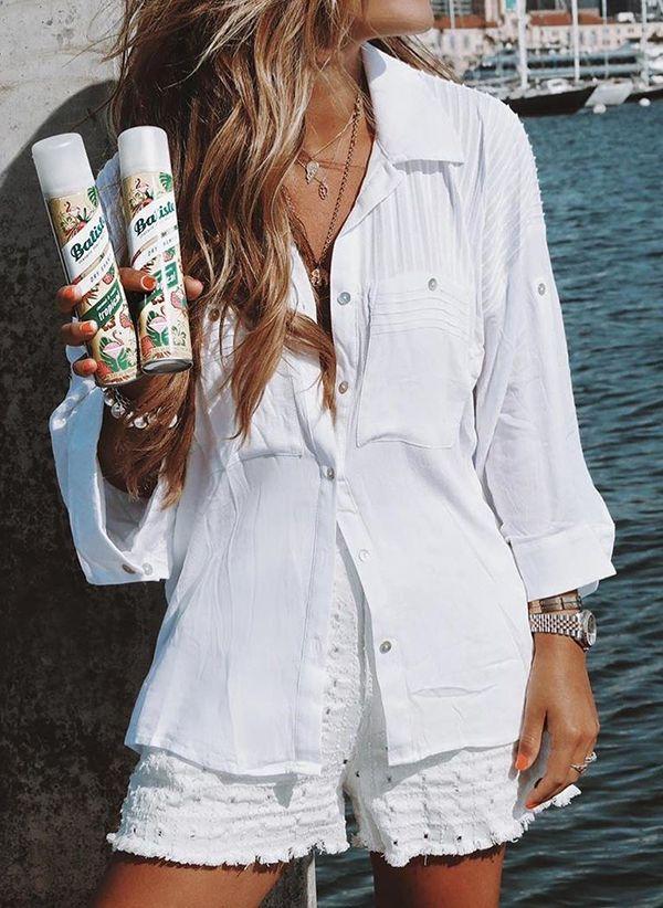 Белая блузка 1425629