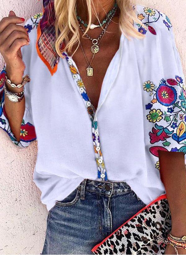 Белая блузка 1425645