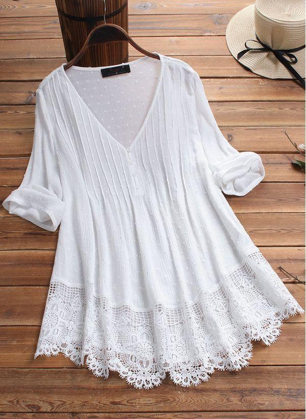 Белая блузка 1428923