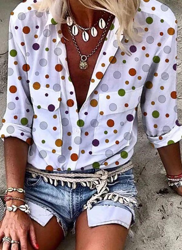 Белая блузка 1430094