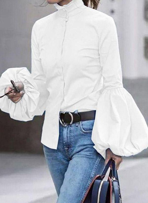 Белая блузка 1430717