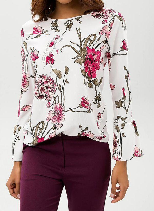 Белая блузка 1430734