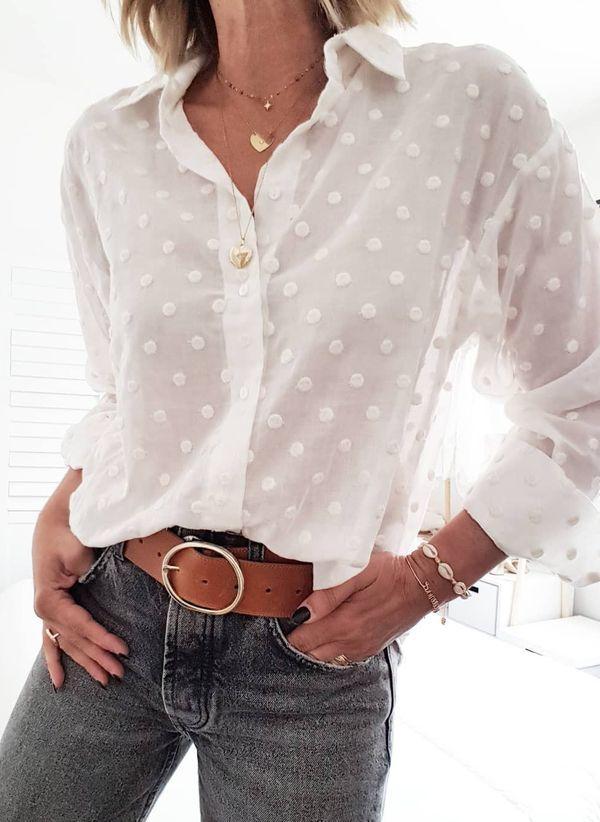 Белая блузка 1432079