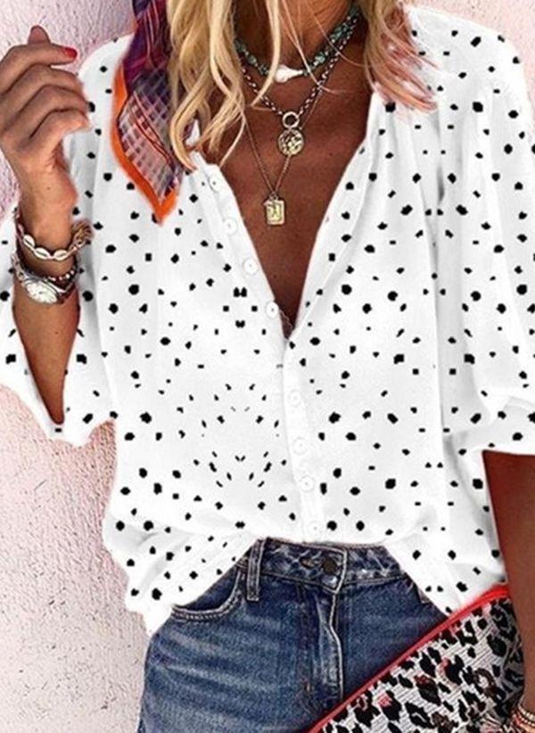 Белая блузка 1433803