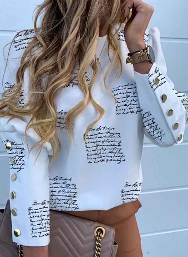 Белая блузка 1434522