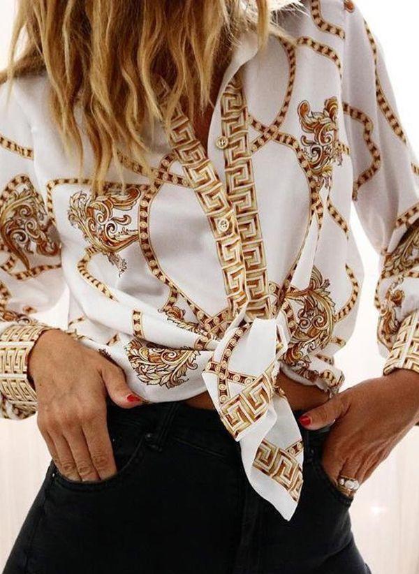 Белая блузка 1437154