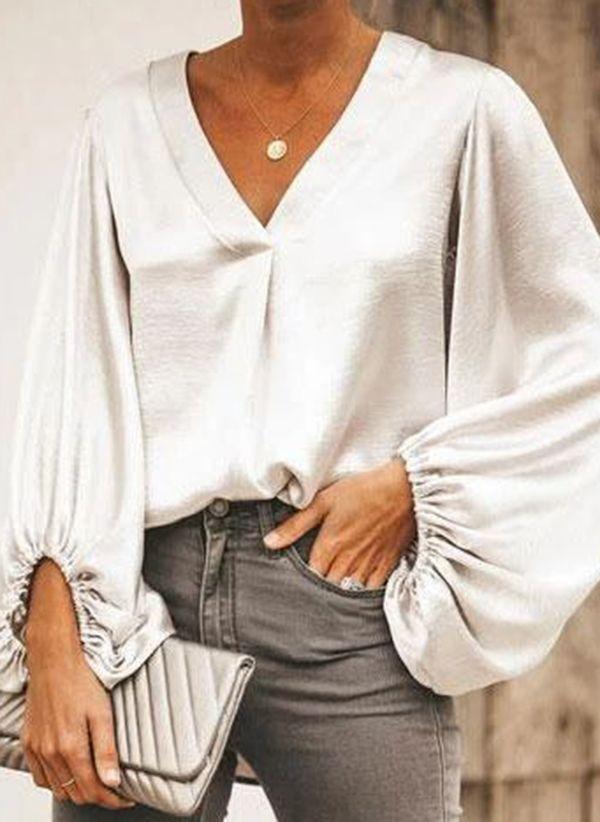 Белая блузка 1439700