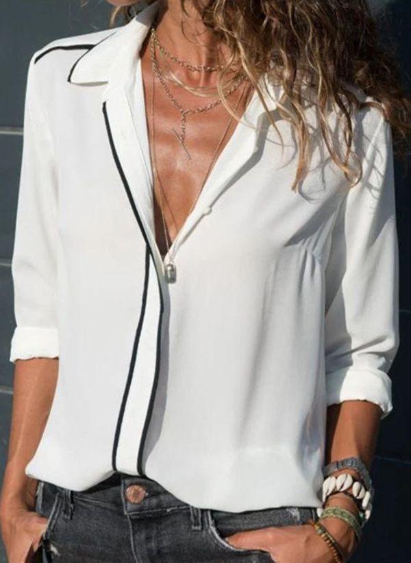 Белая блузка 1439716