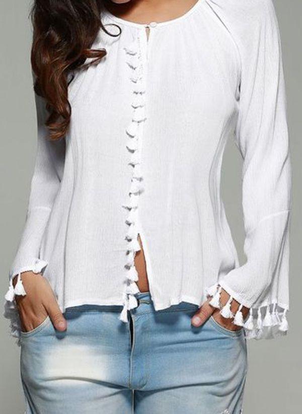 Белая блузка 1439726