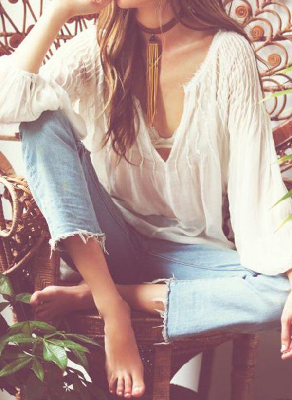 Белая блузка 1439739