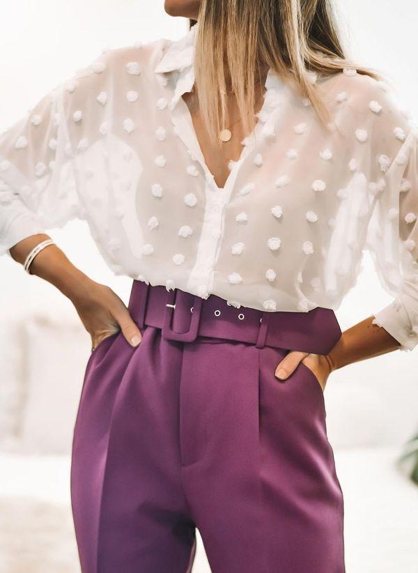 Белая блузка 1439789