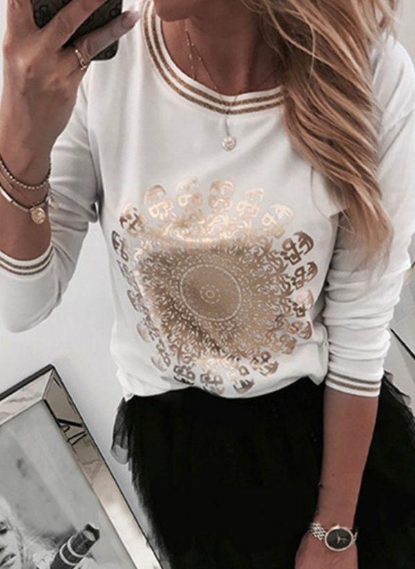 Белая блузка 1441779
