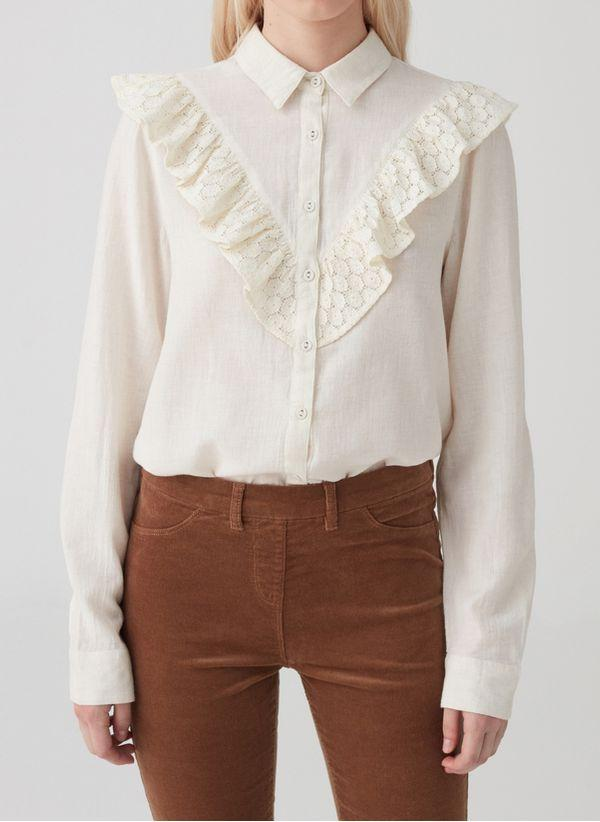 Белая блузка 1441925