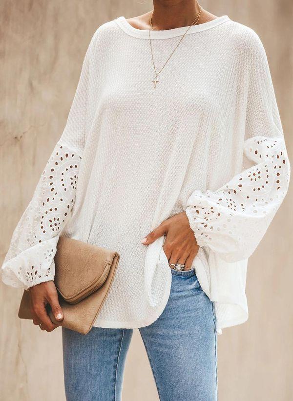 Белая блузка 1442176