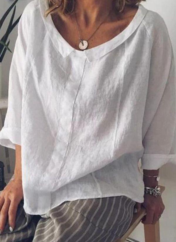 Белая блузка 1442377