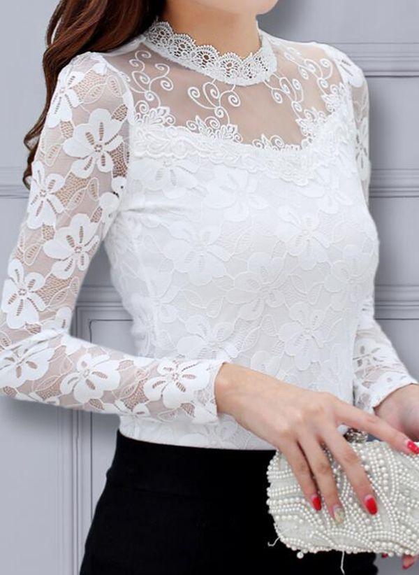 Белая блузка 1442399