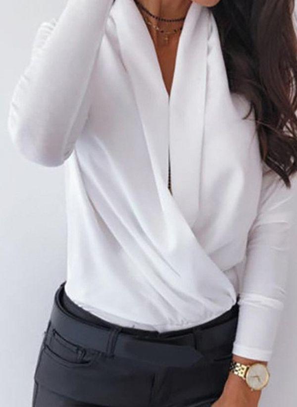 Белая блузка 1445672