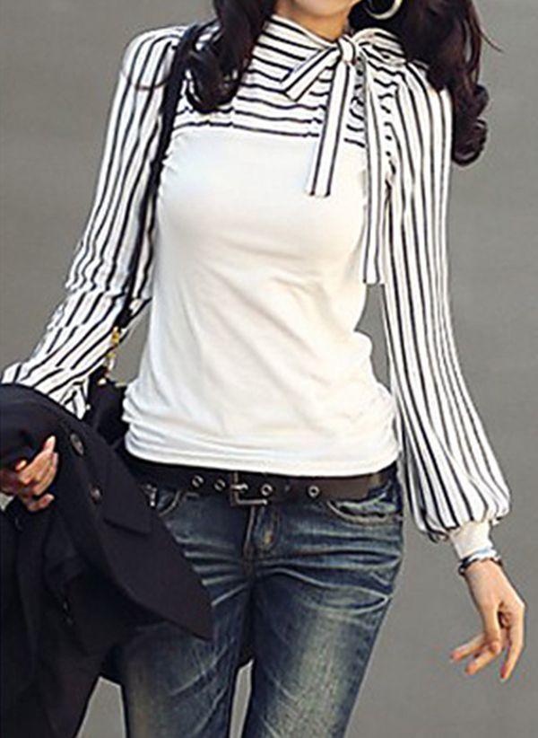 Белая блузка 1453307
