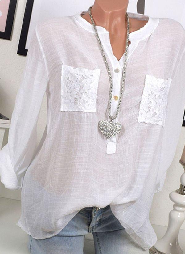 Белая блузка 1453348