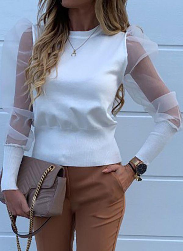 Белая блузка 1453365