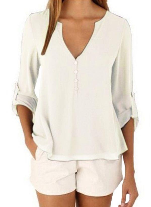 Белая блузка 1457173