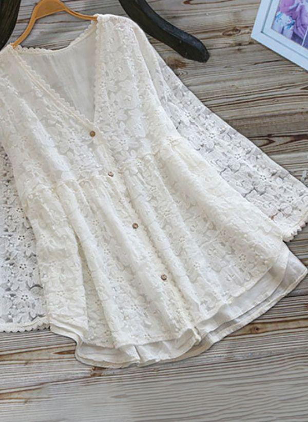 Белая блузка 1457978