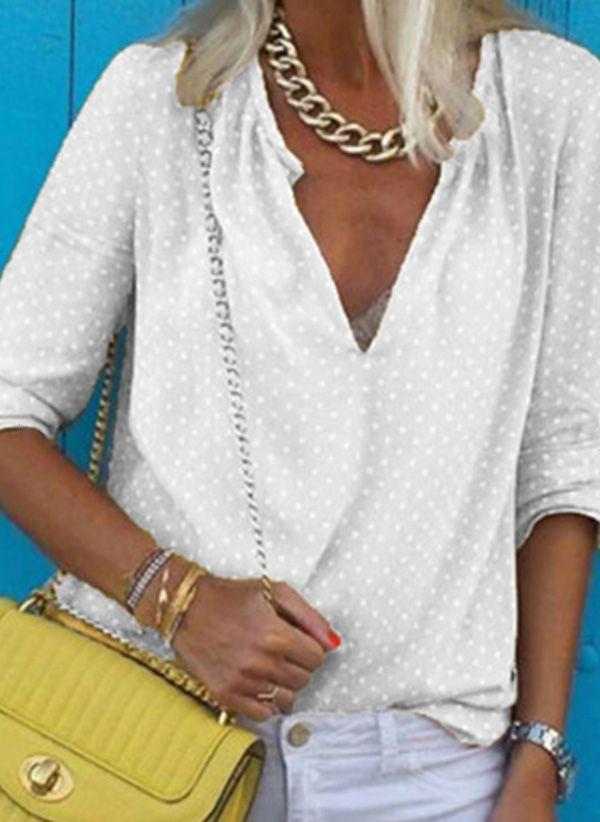 Белая блузка 1458397