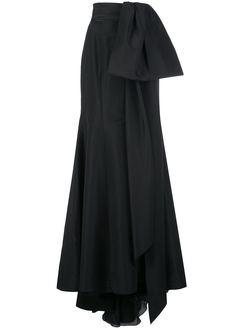 Carolina Herrera юбка макси с бантом