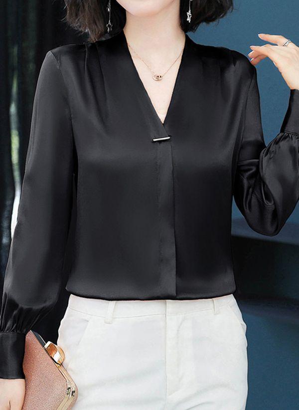 Черные блузки 1358987