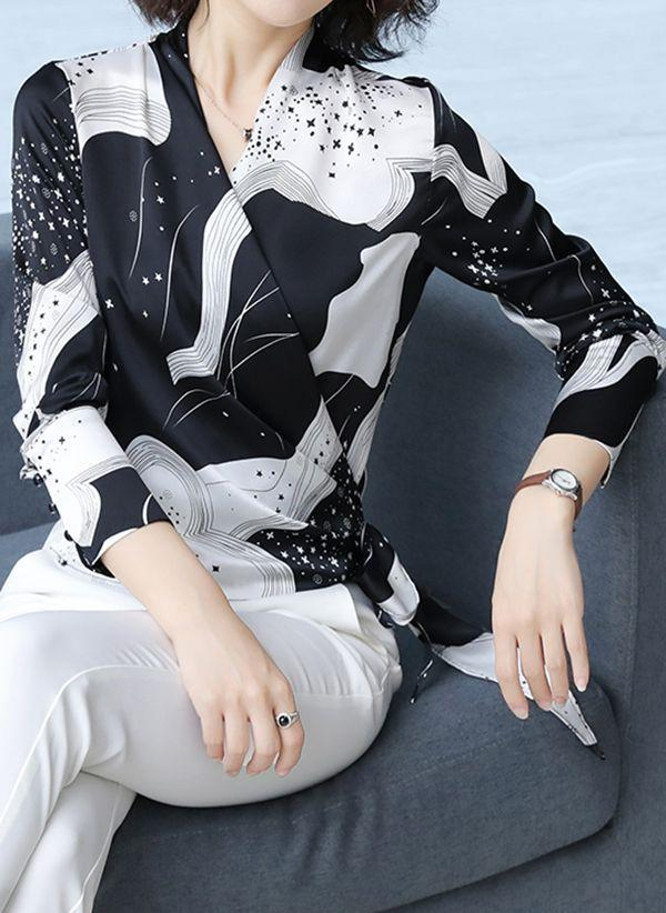 Черные блузки 1375555
