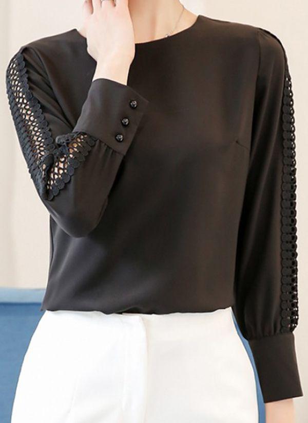 Черные блузки 1375732