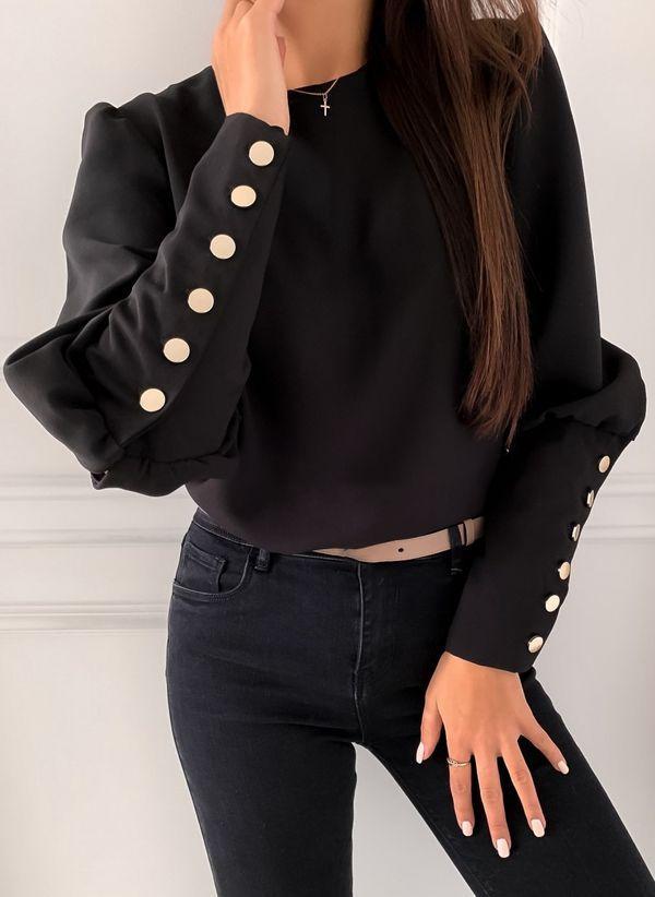 Черные блузки 1437304