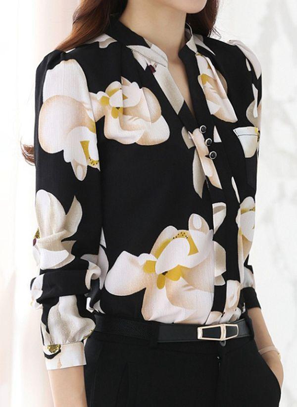 Черные блузки 1442279