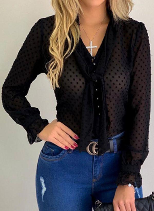 Черные блузки 1448938