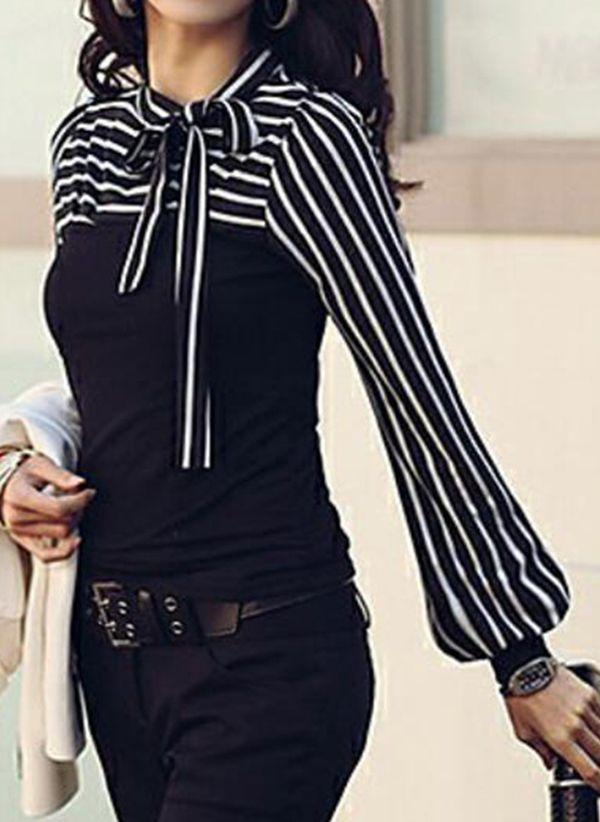 Черные блузки 1453307