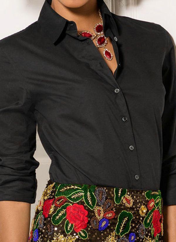 Черные блузки 1457087