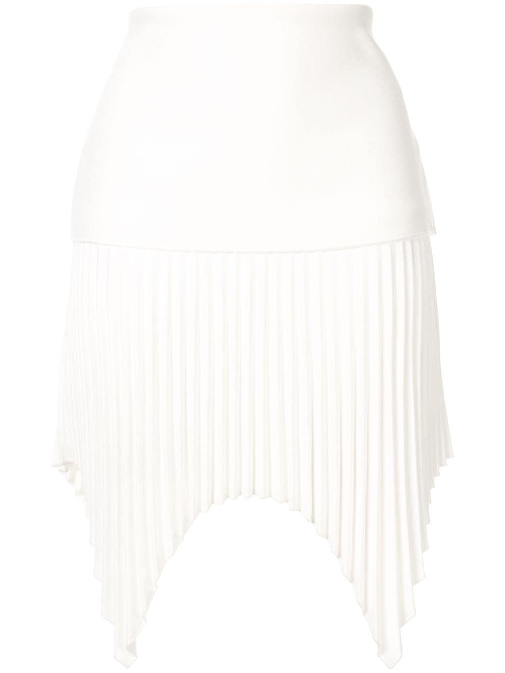 Dion Lee мини-юбка со складками