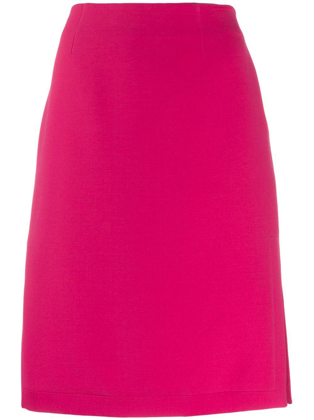 Emilio Pucci юбка-карандаш с боковым разрезом