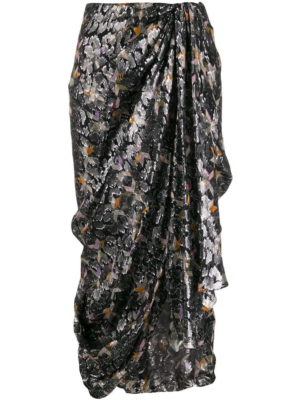 Isabel Marant юбка с геометричным принтом