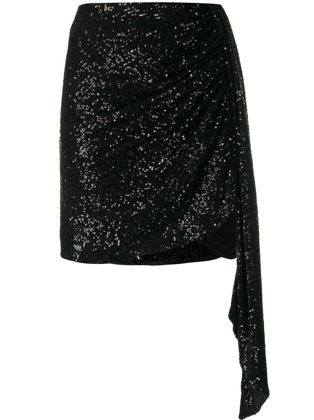 Jonathan Simkhai юбка мини асимметричного кроя