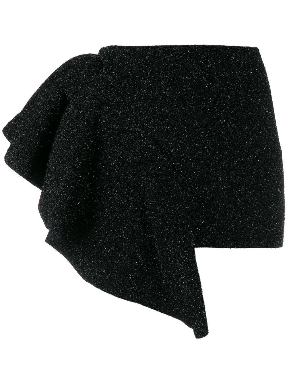 Laneus юбка с оборками и блестками