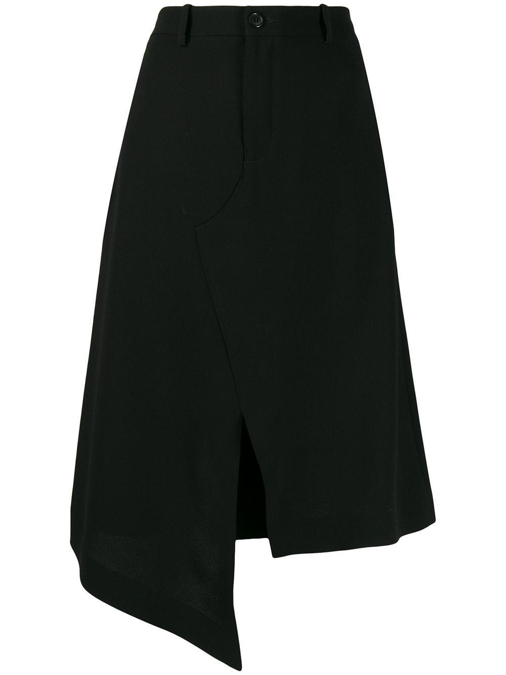 Maison Margiela юбка асимметричного кроя