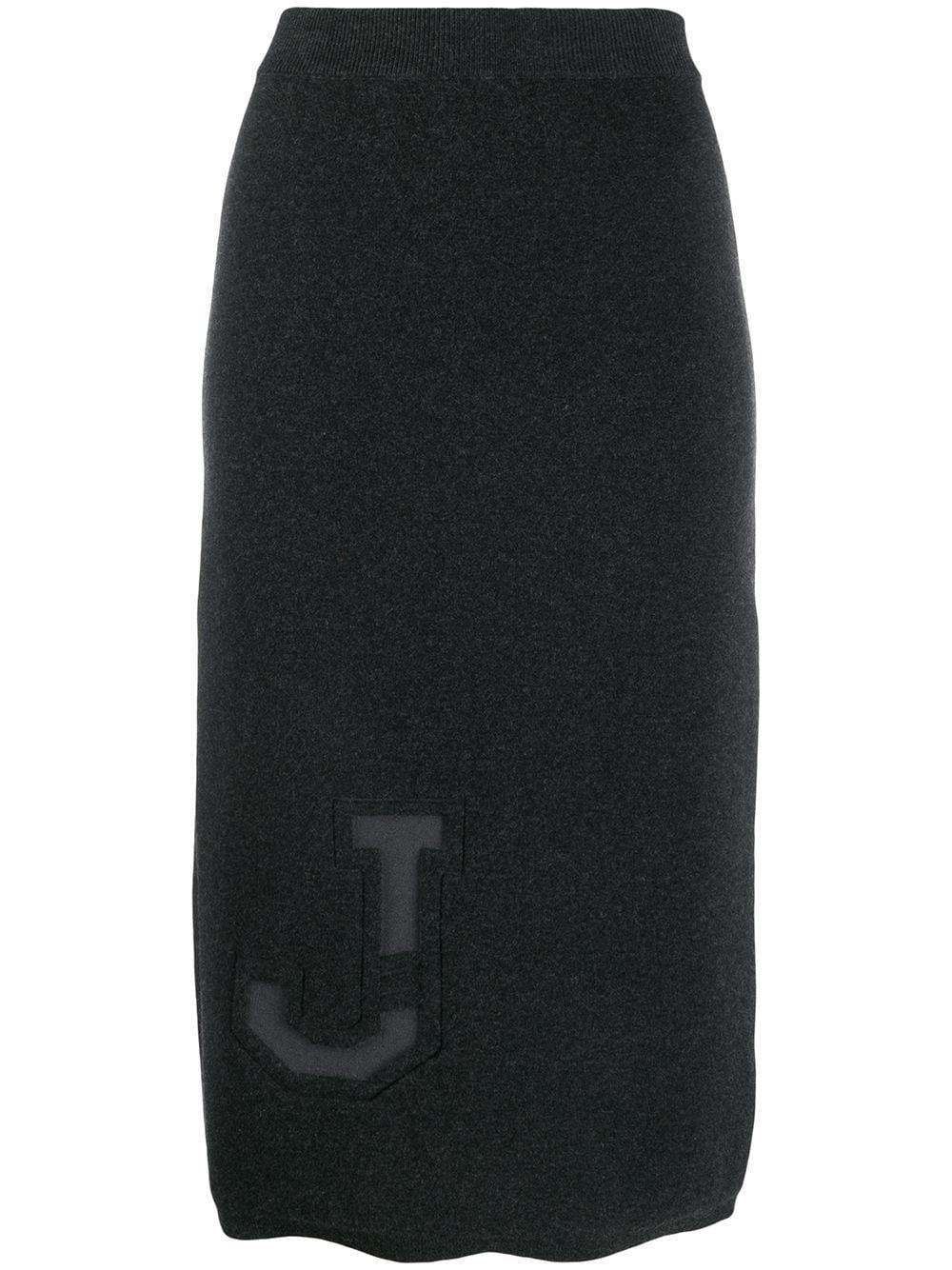 MRZ юбка-карандаш со вс��авкой