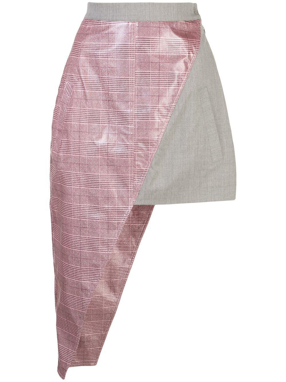 Natasha Zinko юбка мини асимметричного кроя