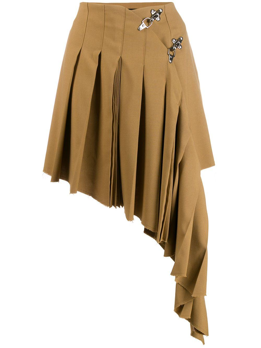 Rokh плиссированная юбка асимметричного кроя