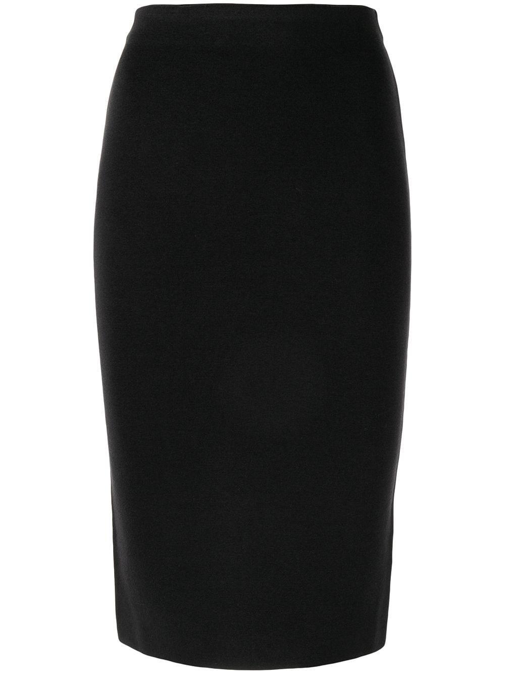 Shanghai Tang трикотажная юбка-карандаш с эластичным поясом