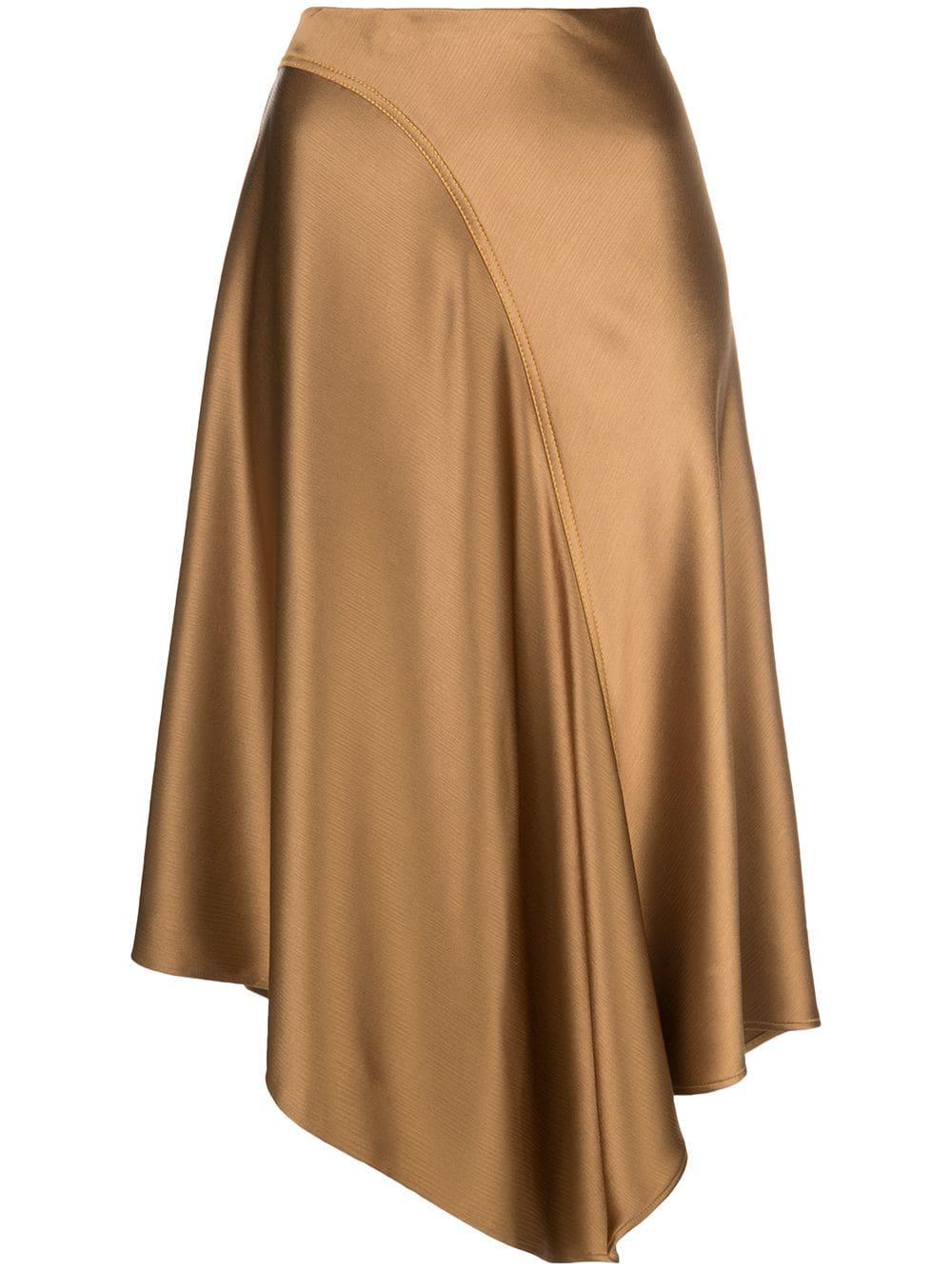 Sies Marjan юбка Darby асимметричного кроя