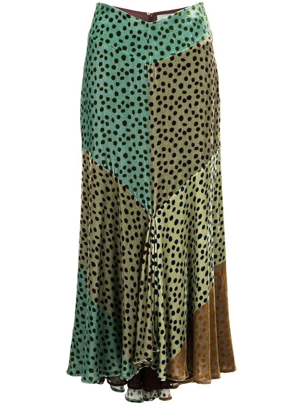 Silvia Tcherassi юбка Delilah с принтом