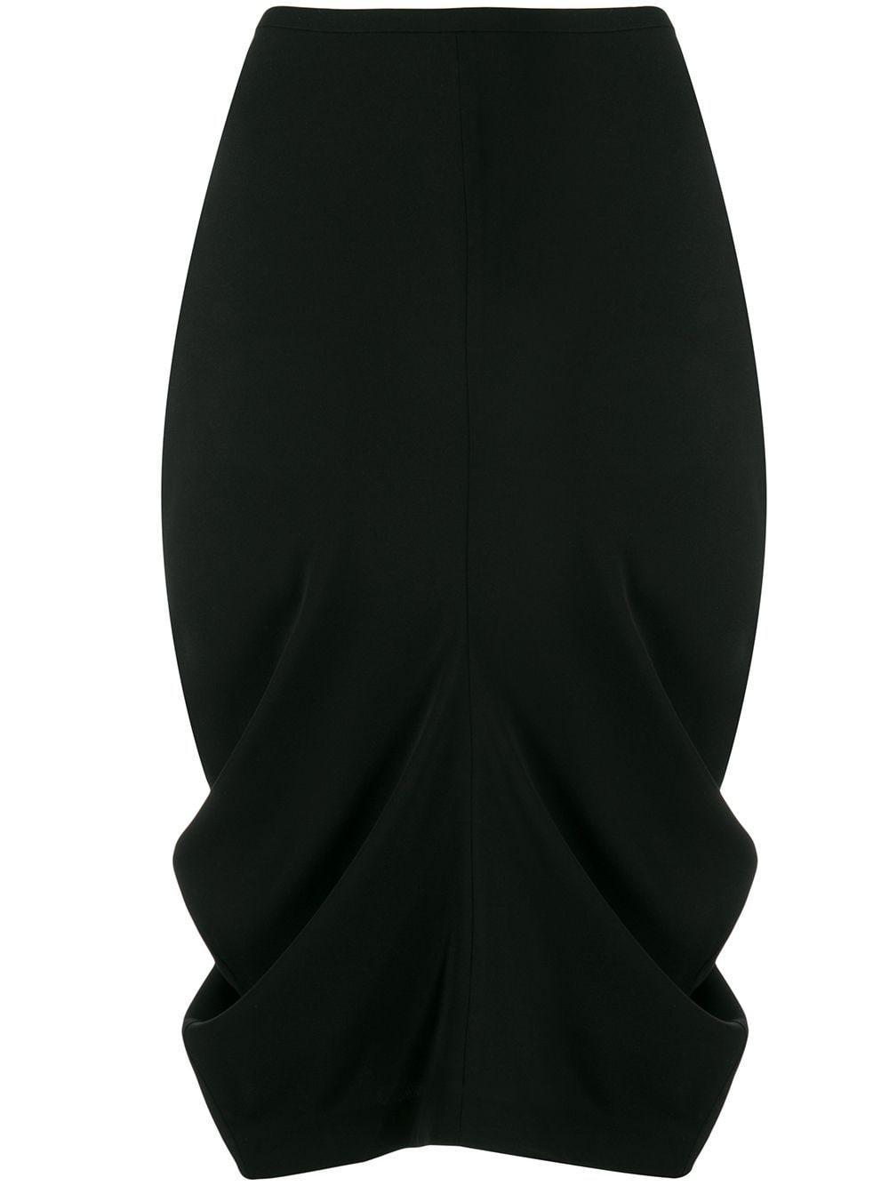 Toteme юбка-карандаш со сборками
