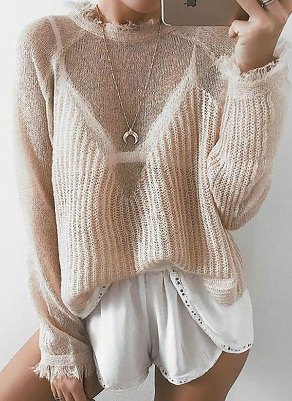 Вязаный свитер осень/зима 2019-2020 1346757